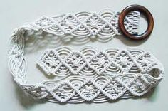 oh how long has it been .... MACRAME <3