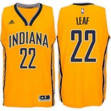 Indiana Pacers #22 T.J. Leaf Alternate Gold New Swingman Stitched NBA Jersey