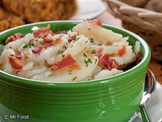 German Potato Salad - This easy deli salad recipe is a hit for your summer potluck or party. With potatoes, bacon, and more, this potato salad recipe is simply irresistible. You can even make this ahead of time and refrigerate it!