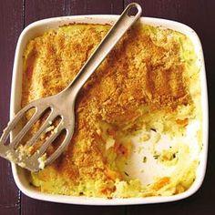 Aardappel en peen ovenschotel, glutenvrij