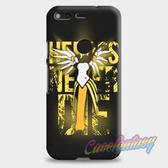 Overwatch Mercy Heroes Never Die Google Pixel XL Case | casefantasy