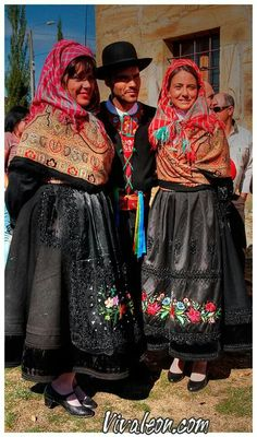 León, trajes típicos regionales