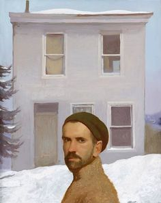 Bo Bartlett (American, b. 1955), Quiet House (Self Portrait), 2003