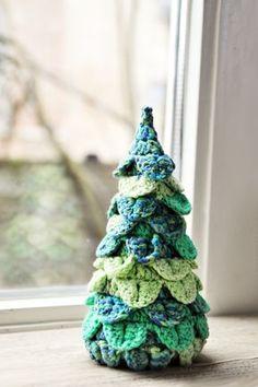 Kerstboom haken - GRATIS patroon - wolplein.nl