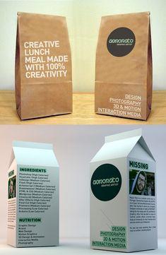 The Creative Lunch Box. #creative #design