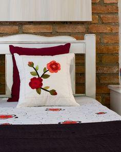 Almofada de patchwork para Feng Shui