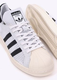 8f65122fd11 Adidas Originals Footwear Superstar Primeknit Trainers - White Black - Adidas  Originals Footwear from Triads UK