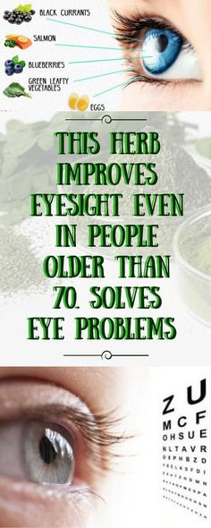 This Herb Improves Eyesight Even in People Older Than 70 Years. Solves Problems With the Eyes, Vision and Eye Pressure!