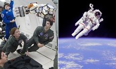 Will astronauts use this jet-pack to explore an ASTEROID? Gyroscopic gas thrusters tested for future spacewalks | Jet-pack combines thrusters and gyroscopes to keep astronauts stable | Draper's invention could help Nasa explore an asteroid in the 2020s [Space Future: http://futuristicnews.com/category/future-space/ Asteroid Mining: http://futuristicnews.com/tag/asteroid/]