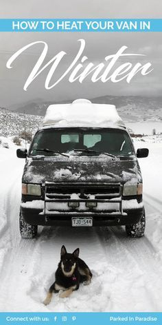 The best way to stay warm this winter! #vanlife heating solutions for the winter.