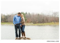 Kent Park Engagement by Emily Crall Photography