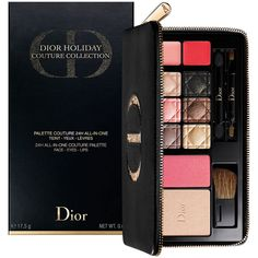 Dior Limited Edition Deluxe All-in-One Palette (335 SAR) ❤ liked on Polyvore featuring beauty products, makeup, christian dior makeup, christian dior, palette makeup and christian dior cosmetics