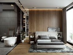 The Rules To Get A Perfect House Interior Design - Home Interior Design Modern Master Bedroom, Master Bedroom Design, Home Decor Bedroom, Hotel Bedroom Design, Master Bedrooms, Dream Bedroom, Bedroom Ideas, Home Design, Home Interior Design