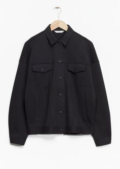 & Other Stories | Press Button Jacket