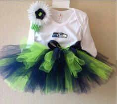 Little girl super bowl outfit