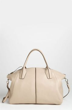 Tods New D-Styling Leather Shopper available at Nordstrom --- nice alternative to Givenchy Antigona. -M