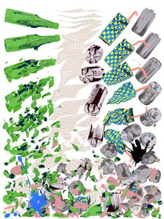 Is recycling in America  doing anything good for your community and environment, or is it actually a waste of time? John Tierney explores in this Op-Ed for the Sunday Review. (Illustration: Santtu Mustonen)