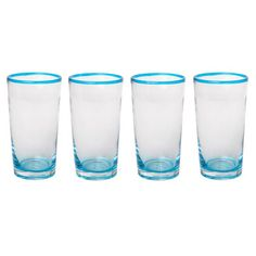 Acamar Set of 4 Tumblers  by Gibson