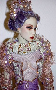 Sybarite, Paris Doll festival 2013 OOAK from Superfrock by falconheri, via Flickr