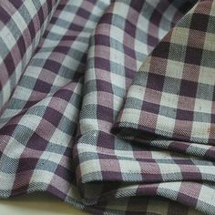 Pigeon Force - lightweight cotton flannel shirt fabric from Croft Mill