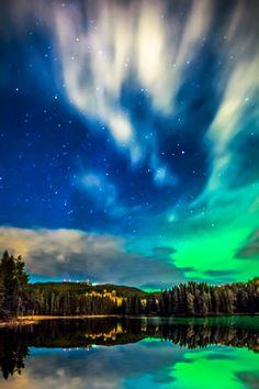 Aurora over Baklidammen, Trondheim, Norway by Aziz Nasuti on 500px