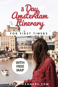 How To Spend 3 Days in Amsterdam On Your First Visit - This 3 Day Amsterdam Itinerary is perfect for first-time visitors! It contains 25 things to do in Amsterdam + a free map. Find out more here! 3 Days In Amsterdam, Amsterdam Red Light District, Amsterdam Things To Do In, Visit Amsterdam, Amsterdam City, Amsterdam Travel, Amsterdam Netherlands, Amsterdam Info, Amsterdam Food