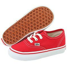 09359bc635 Vans kids authentic core toddler red