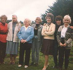 Mum with my Nana and mum's sisters