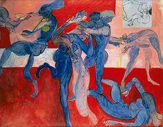 Ceri Richards The Rape of the Sabines (Saudade) 1949