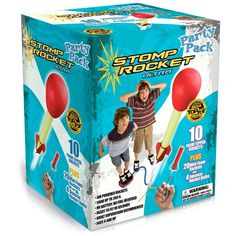 Ultra Stomp Rocket Party Pack by D