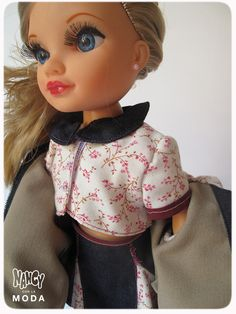 Funny Hipster Girl from David Maeso. #Nancy #dolls #muñecas #poupées #juguetes #toys #bonecas #bambole #Nancyconlamoda #Fashion