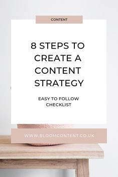 Content strategies can seem overwhelming. Read my simple 8 step checklist and why you should be implementing one for your success. Blog Writing Tips, Blog Tips, Content Marketing, Online Marketing, Blog Post Template, Basic Website, Virtual Assistant Services, How To Find Out, Blogging
