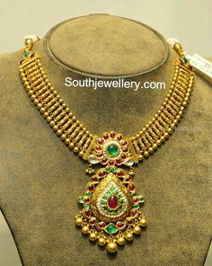 Antique Jewellery Designs, Gold Earrings Designs, Necklace Designs, Antique Jewelry, Jewelry Design, Gold Designs, Antique Gold, Indian Wedding Jewelry, Indian Jewelry