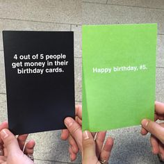 """""""Leave it to my uncle Lou to find this birthday card from @officialshoebox He's always been a cheap bastard. Peep shoebox.com so much hilarity. #shoebox #ad"""""""