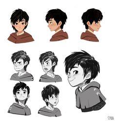"ArtStation - Robin hood ""Robin"", Hong SoonSang:"