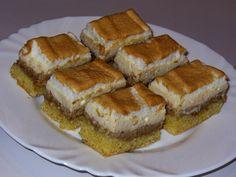 Moje kulinárske dobrodružstvá: Hnetený orechovo-tvarohový koláč so snehom