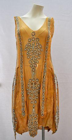 1920s Beaded Dress.