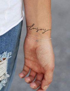 Un mot sur le poignet