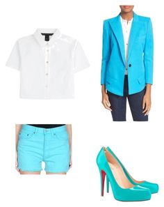 """Toy Bonnie"" by jaqueline-grace on Polyvore featuring Levi's, Christian Louboutin, Marc by Marc Jacobs and Smythe"