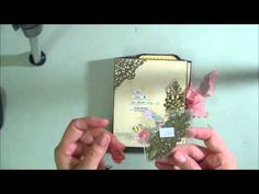 File Folder Album Using We R Memory Keepers Envelope Punch Board - YouTube