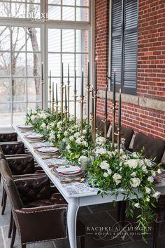 Langdon Hall Wedding Decor Flowers
