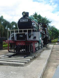 train on the Bridge on the River Kwai