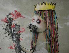 by Da Mental Vaporz. Street art