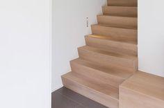 Betonnen Trap Inspiratie : 14 best betonnen trap bekleden images on pinterest staircases