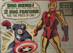 Check out new auctions on the Canadian Pickers website. This week's auctions include: Tales of suspense #59 (Ironman & Captain America)