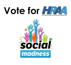 Only a few days left to vote in Round 2 of Social Madness! Please vote for HRAA every day and help us earn $10,000 for charity! HRAA is in the medium category.