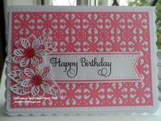 Birthday card  Sue Wilson dies
