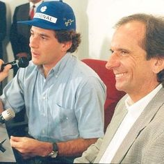 Ayrton Senna & Emerson Fittipaldi
