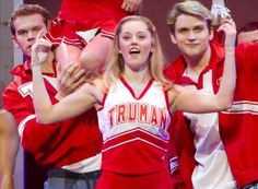 Campbell - Bring it on the musical.... however I don't have tricks but a girl can dream :)