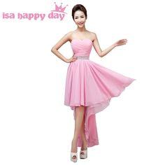 d07b9fc1ee8 ZJ5074 Orange Blue Crystal Front Short Back Long Dresses Evening Party Gown  Long Maxi Plus Size 6 8 10 12 14 16 18 20 22 24 26